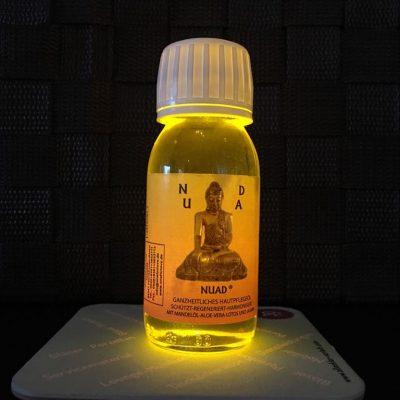 Nuad Öl – Ein naturreines Haut und Körperpflegeöl, das die Haut pflegt und die Sinne bewegt